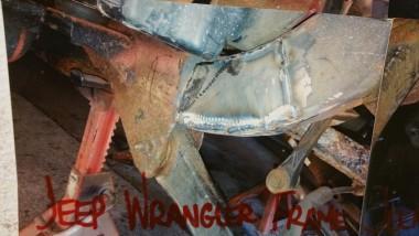 Jeep Wrangler Frame Rust Repair Jeep Wrangler Welding